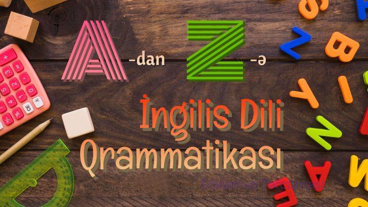 adan zye ingilis dili qrammatikası