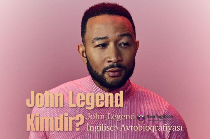 john legend ingilisce avtobioqrafiyasi